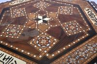 Damascan Side Table Octagonal Arabic Interiors Inlay (7 of 10)