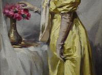 Alexandre-François BONNARDEL (1867-1942) Belle Époque Oil Painting (4 of 8)
