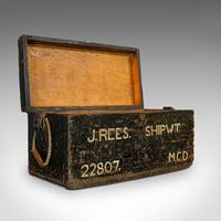 Antique Shipwright's Chest, English, Craftsman's Tool Trunk, Victorian, 1900 (8 of 12)