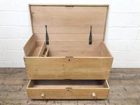 Large 19th Century Pine Chest (7 of 8)