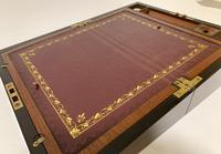 Antique Victorian Mahogany Writing Slope (5 of 12)