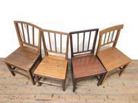 Four Similar 19th Century Stick Back Farmhouse Chairs (2 of 7)