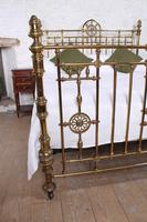 Handsome Super King Size Victorian all Brass Bed (6 of 12)