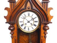 Wow! Antique German Spring Driven Striking 8-day Vienna Wall Clock by Peerless (12 of 12)