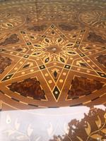 Antique Inlaid Syrian Coffee Table (3 of 12)