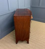 Regency Mahogany Bow Fronted Chest of Drawers (11 of 14)