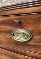 Large Regency Mahogany Bow Front Chest of Drawers (9 of 19)