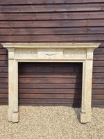 19th Century Wood Fire Surround Painted in Faux Marble (2 of 3)