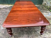 Very Large Victorian Mahogany Extending Dining Table (8 of 16)