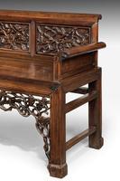 Mid 19th Century Chinese Hardwood Sofa (2 of 9)