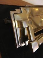 Art Deco Brass Letter Box (2 of 4)