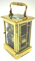 Large Classic Antique French 8-day Gong Striking Carriage Clock c.1880 (7 of 10)