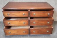 Bevan Funnell Figured Mahogany Chest of Drawers (8 of 9)