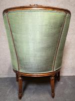 Carved Walnut French Armchair (6 of 11)