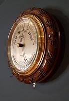 Antique Ship's Barometer by Barker of Kensington (4 of 4)
