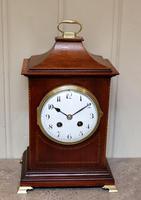 Mahogany Pagoda Style Mantel Clock (11 of 12)