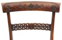 Set of 6 Regency Faux Rosewood (beech) Dining Chairs 19th Century C1825 (6 of 7)