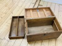 19th Century Oak Tool Chest (10 of 16)