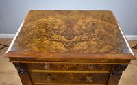 Victorian Burr Walnut Wellington Chest (10 of 10)