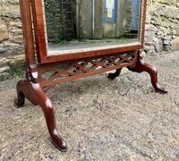 Antique Mahogany Cheval Mirror (8 of 18)