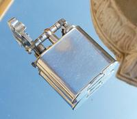 Rare Stunning Art Deco Alfred Dunhill Lift Arm Lighter & Pouch c.1920 (2 of 12)