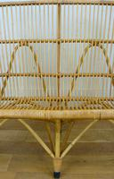 Good Vintage Wicker Rattan Sofa By Rohé Noordwolde (6 of 14)