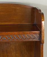 Small Open Mahogany Bookcase (5 of 6)