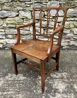 Antique Country Oak Armchair (2 of 14)