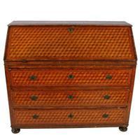 18th Century Italian Parquetry Bureau (2 of 8)
