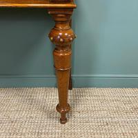Stunning Victorian Oak Antique Console Table (7 of 7)