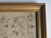 English Needlework Sampler by Jane Whitaker, Aged 11, 1820, Lake District (4 of 6)