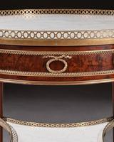 Exceptional Gervais Durand 19th Century Mahogany & Gilt Bronze Gueridon Bouillotte Table (8 of 17)