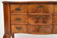 Antique Burr Walnut Lowboy Side Table (5 of 9)