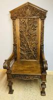 Gothic Revival Throne (5 of 20)