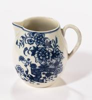 18th Century Liverpool Blue & White Printed Jug (4 of 5)