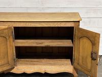 French Bleached Oak Sideboard or Dresser Base (13 of 23)