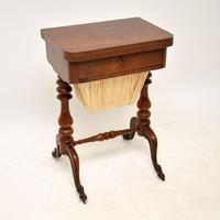 Antique Victorian Walnut Games / Chess Table (2 of 12)
