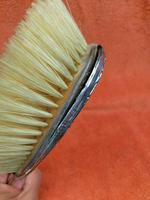 Antique Sterling Silver Hallmarked Brush 1917  William Neale & Son  Birmingham (8 of 11)