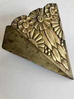 French Bronze Art Deco Wall Sconce (2 of 4)