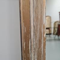 Distressed Antique English Overmantle Mirror c.1890 (5 of 5)