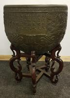 Very large 19th/20th century Antique bronze chinese incense burner/bell