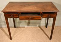 George III Mahogany Side / Dressing Table (4 of 9)