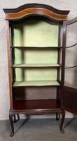 Edwardian Inlaid Mahogany Display Cabinet (8 of 13)