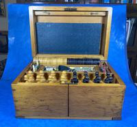Victorian Pine Partially Fitted Games Box (19 of 32)