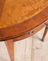 Sheraton Period Satinwood Pembroke Table (3 of 7)