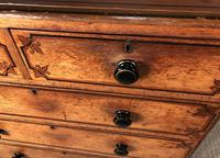 Victorian Original Painted Pine Chest of Drawers (7 of 14)