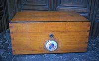 Antique Oak Mailbox