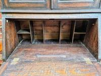 Solid Oak Antique Arts & Crafts Bureau Victorian Late 19th Century (5 of 7)
