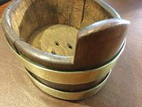 Small Oak Coopered Planter (4 of 7)