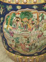 Pair of Chinese Qing Dynasty Painted Barrels / Seats (8 of 17)
